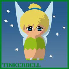 Tinkerbell Vector | Tinkerbell Doll - Peter Pan by hallatt