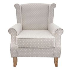 Edinburgh Dotty Armchair | Dunelm