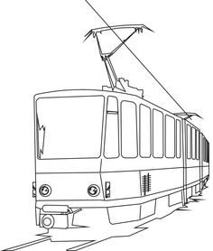 Lego train coloring page for kids, printable free. Lego ...