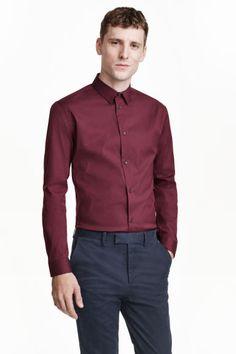 Elastyczna koszula Slim fit | H&M