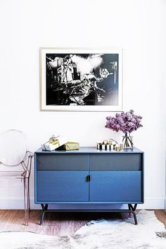 Navy-Blue-Buffets-and-Cabinets-for-This-Spring-5 Navy-Blue-Buffets-and-Cabinets-for-This-Spring-5