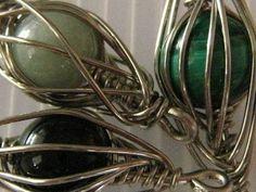 caged herringbone weave