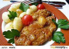Pikantní kotlety od kolegyně Jeleny recept - TopRecepty.cz Meat, Chicken, Cubs