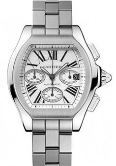 c2757fe4d8b Cartier Roadster Roadster S Chronograph (Style No  W6206019) from  SwissLuxury.Com Amazing
