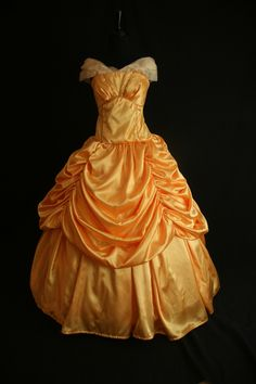 Allie has decided to be Princess Belle for Halloween. Going to make it this year!