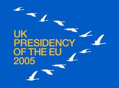 UK presidency - Logo (by johnson banks) Banks, United Kingdom, Presidents, Identity, December, Branding, History, Logos, Self