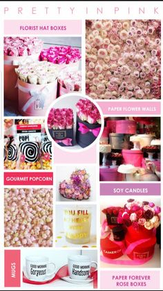 """Inspiration Flower Boxes  Paper Flower Walls Gourmet Popcorn  Forever Roses email gail@ontrendmarketing.co.za if you are interested in """"how to"""" templates  flower packaging Gift Boxes  and more"""