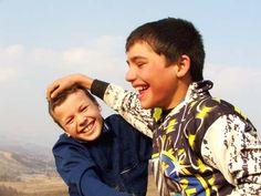 Romanian children. Precious.
