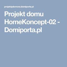 Projekt domu HomeKoncept-02 - Domiporta.pl