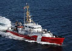 Canadian Coast Guard Receives Its Third Hero Class Vessel CCGS Corporal Teather C. 47 metres in length with a displacement of 257 tonnes and a top speed of 25 knots. Built by Irving Shipbuilding Inc. Canadian Coast Guard, Coast Guard Ships, Explorer Yacht, Canadian Things, Search And Rescue, Navy Ships, Vietnam, Canada, Boat