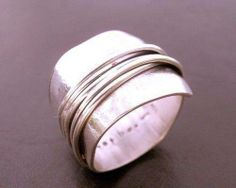 {LUST ALERT} I love silver and I love statement pieces...I think I need this ring?!?!