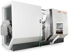 New Machine for 5-Axis Cutting of Blisks and IBRs