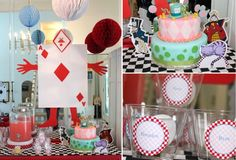 ONEderland printable birthday party decorations