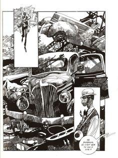 Talented French illustrator, comic/artist