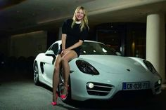 Maria Sharapova and her Cayman