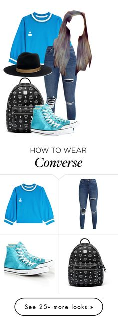 """""""Brunch"""" by princesstakis on Polyvore featuring Étoile Isabel Marant, Janessa Leone, MCM and Converse"""