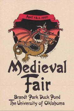 1990 14th annual Medieval Fair Poster