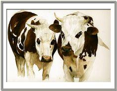 Marie-Claire Houmeau Les vaches