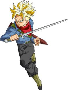 Trunks SSJ by SaoDVD on DeviantArt