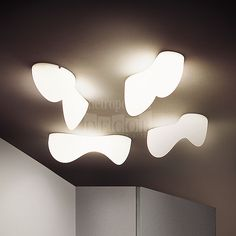 Blob S Wall or Ceiling Light by Foscarini