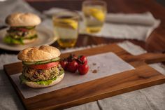Cooking with Grains - Bulgar Wheat and Red Kidney Bean Burgers
