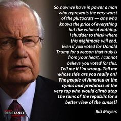 Insight from a veteran journalist. Well said, Bill.