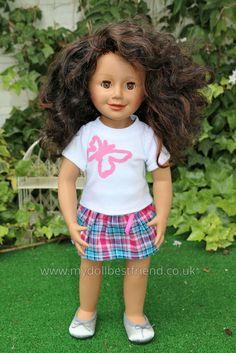 "WeGirls Doll Scarlett | 18"" Vinyl dolls made in Germany for Polish brand WeGirls at www.mydollbestfriend.co.uk"