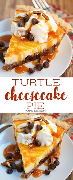 Recipes – Food and Drink Recipe Ideas Sweet Desserts, Just Desserts, Sweet Recipes, Delicious Desserts, Yummy Food, Tasty, Turtle Cheesecake Recipes, Cheesecake Pie, Caramel Cheesecake