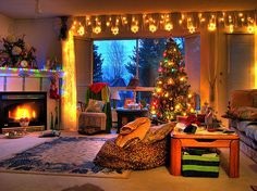 so cozy and christmasy