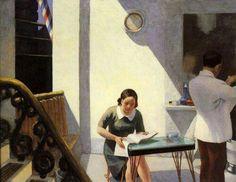 The Barber Shop - Edward Hopper , 1931