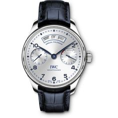 IWC's one-off Portugieser Annual Calendar for the BFI London Film Festival Iwc Watches, Army Watches, Watches For Men, Iwc Chronograph, The Gentlemans Journal, International Watch Company, Iwc Pilot, London Film Festival, Latest Watches