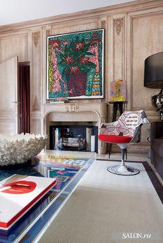 Modern wall art /eclectic interior