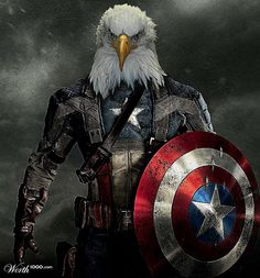 Captain America(n) Eagle - Worth1000 Contests