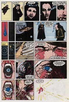 Dune #3 (Marvel Comics - June 1985) Script:Ralph MacchioIllustrator:Bill Sienkiewicz