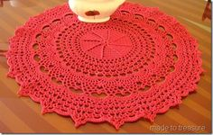 Mary's doilies 7 crochet project | Mary Werst