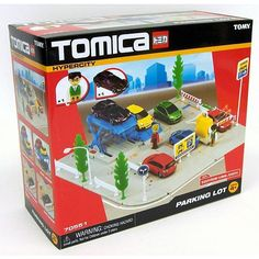 "Tomica Hypercity Parking Lot Playset - TOMY - Toys ""R"" Us"