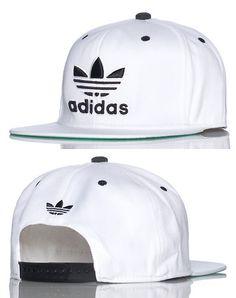 adidas MENS TRASHER SNAPBACK CAP White