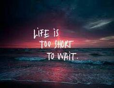 Live life like theres no tomorrow xx :)