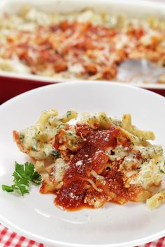 Try this recipe for baked ziti from the Favorite Italian Restaurant in the…