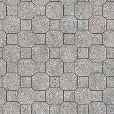 Textures Texture seamless | Paving concrete mixed size texture seamless 05587 | Textures - ARCHITECTURE - PAVING OUTDOOR - Concrete - Blocks mixed | Sketchuptexture