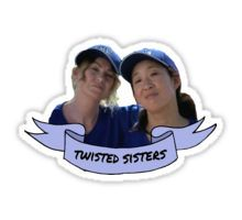 Twisted Sisters Sticker