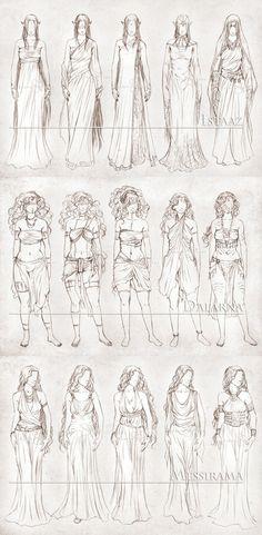 Art - Dresses