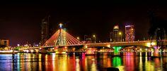 Han Bridge At Night by khoitran via http://ift.tt/2lzeqq8