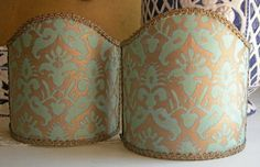 Pair of  Wall Sconce Shield Shades Fortuny by OggettiVeneziani, €49.00