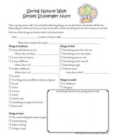 fall nature walk worksheet cc science projects cycle 1 pinterest worksheets homeschool. Black Bedroom Furniture Sets. Home Design Ideas