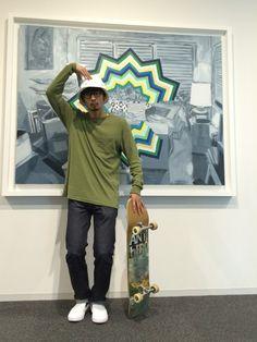 junya_kasugaさんのTシャツ/カットソー「SATURDAYS SURF NYC JAMES HEATHERED SLUB」を使ったコーディネート