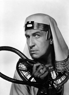 Vincent Price as Baka in The Ten Commandments