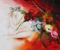 Raymond Poulet - Art School, Sculpture, Abstract, Painting, Acrylics, Note, Chicken, Artist, Flowers