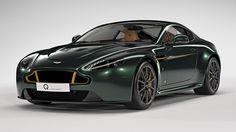 This Ravishing Aston Martin Vantage V12 S 80 Honors The Spitfire
