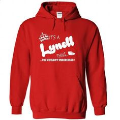 Its a Lynell Thing, You Wouldnt Understand !! Name, Hoo - #short sleeve shirts #unique t shirts. BUY NOW => https://www.sunfrog.com/Names/It-Red-22327140-Hoodie.html?60505